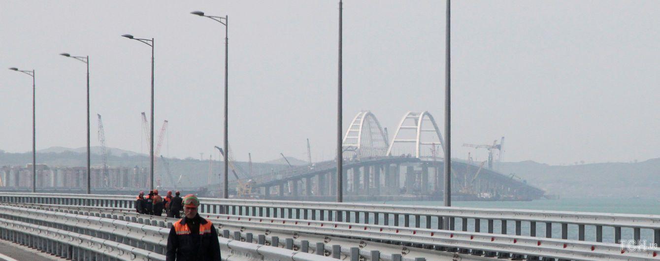 Комитет Парламентской ассамблеи НАТО единогласно осудил строительство Керченского моста Россией