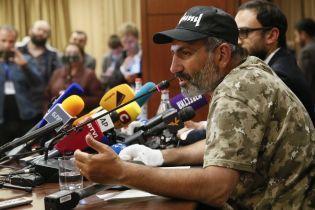 Опозиціонера Пашиняна висунули кандидатом на посаду прем'єра Вірменії