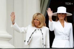Мелания vs Бриджит: какая из первых леди выбрала более удачные наряды. Голосование