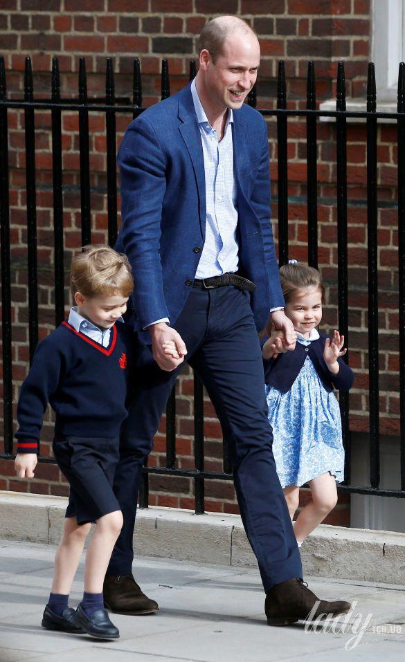 Принц Уильям с детьми_4
