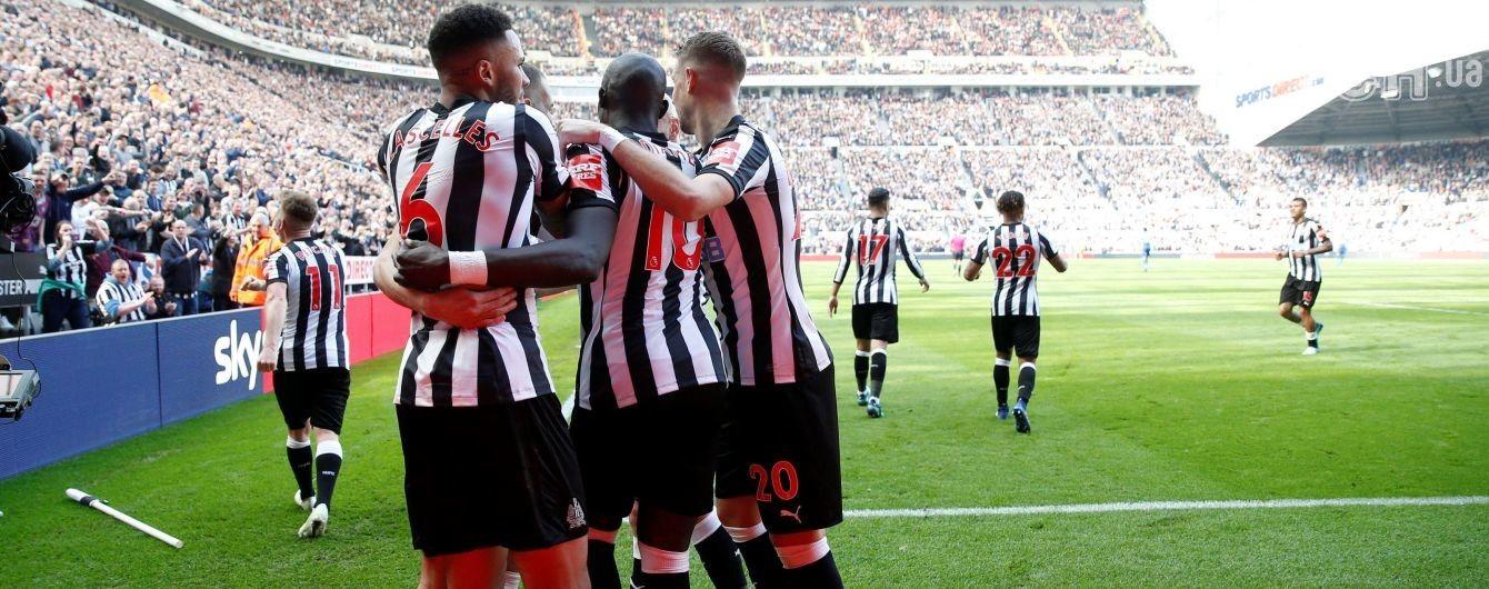 """""""Ньюкасл"""" в присутствии легенды футбола одержал волевую победу над """"Арсеналом"""""""
