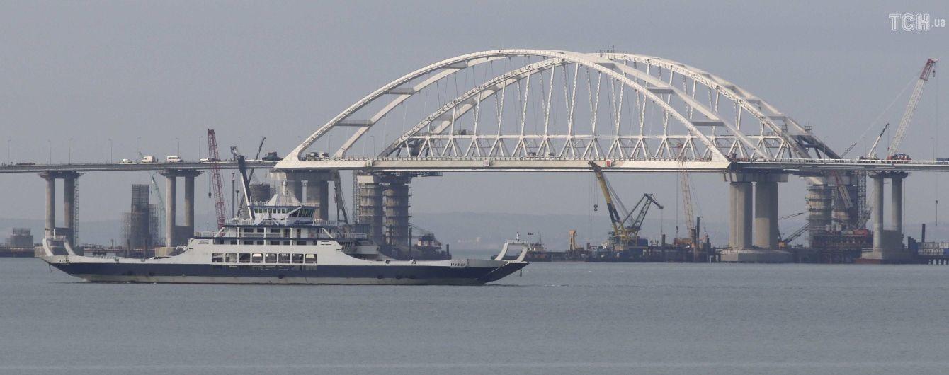ЄС запровадив санкції проти шести компаній, які будували Кримський міст