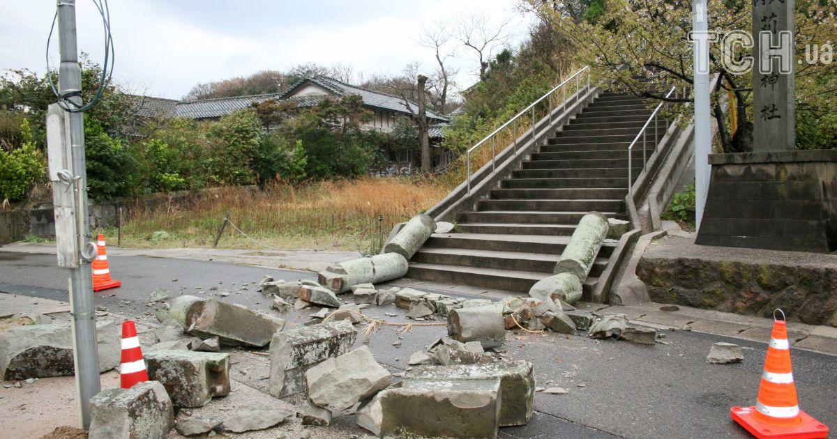 Японію струсонув сильний землетрус
