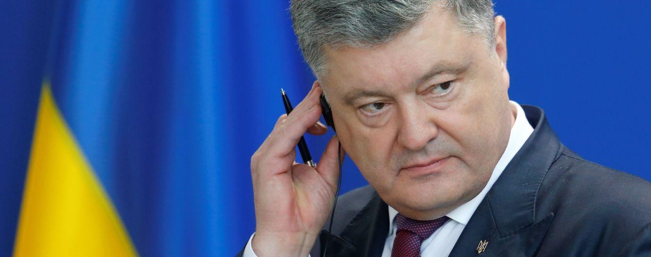 Украина синхронно с США и ЕС введет санкции против России - Порошенко
