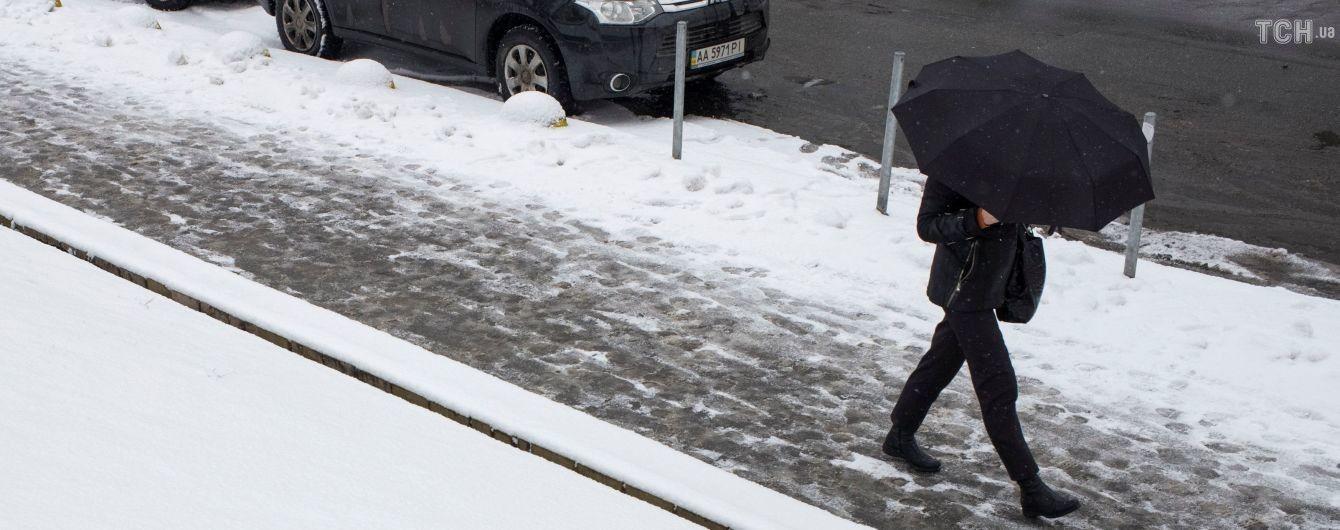 Синоптики обещают Киеву снежный покров, а в восточных областях уже морозно