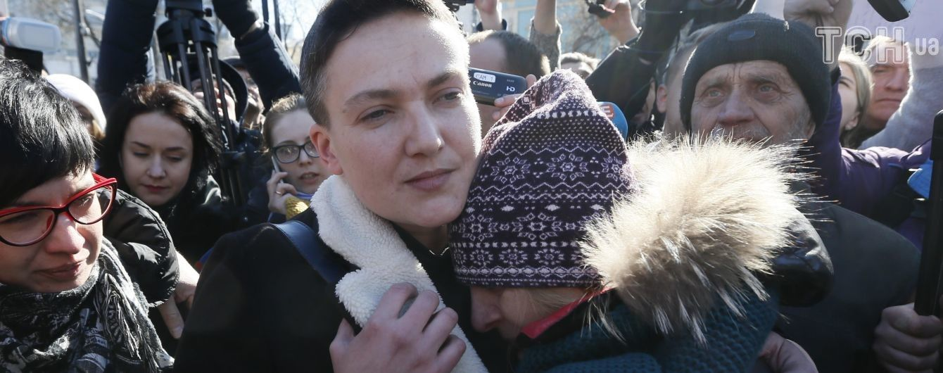 Через час Савченко предстанет перед украинским судом