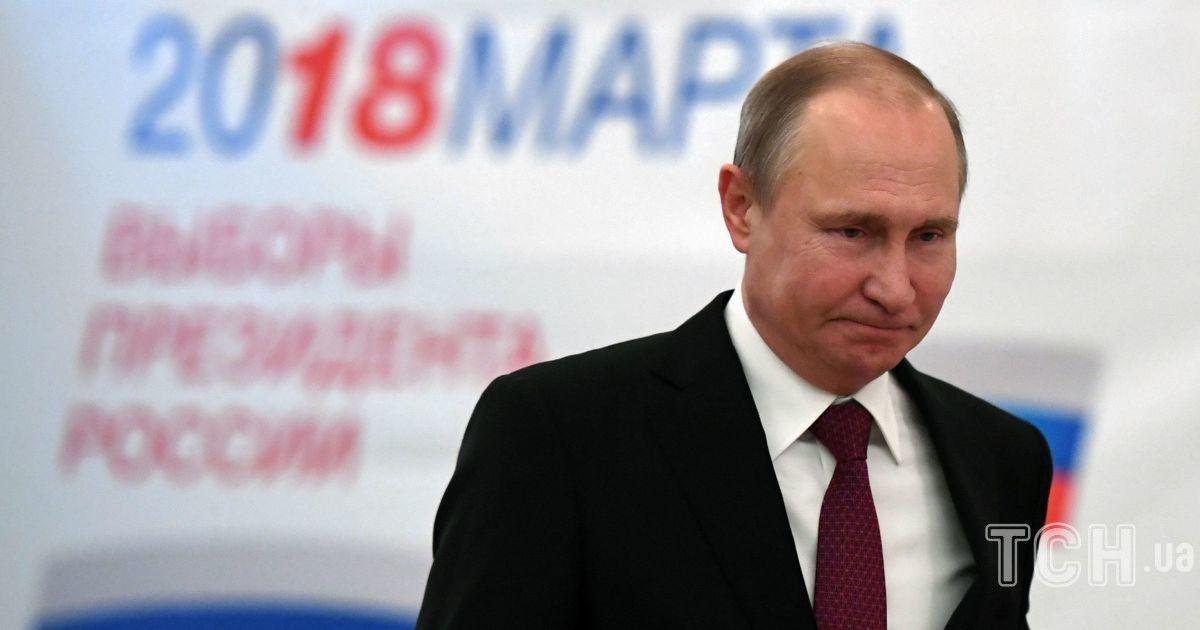Путин проголосовал на выборах @ Reuters