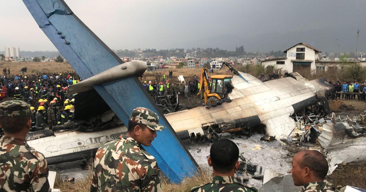 Аварія літака у Непалі @ Reuters