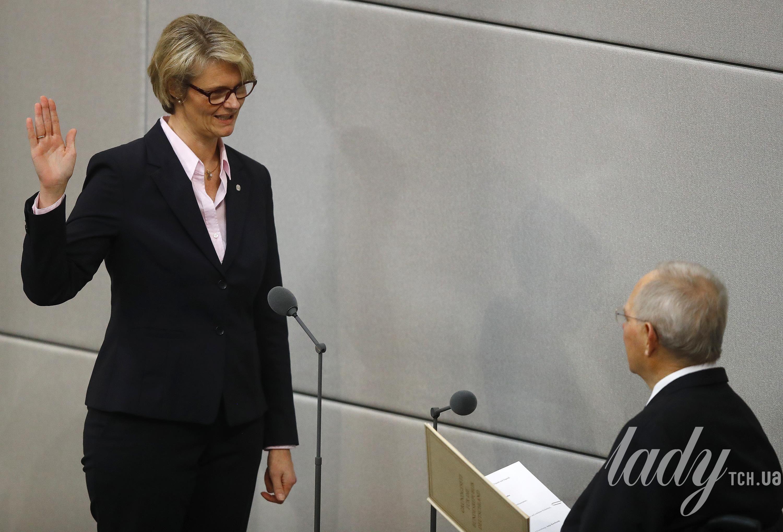 Женщины-министры в парламенте Германии