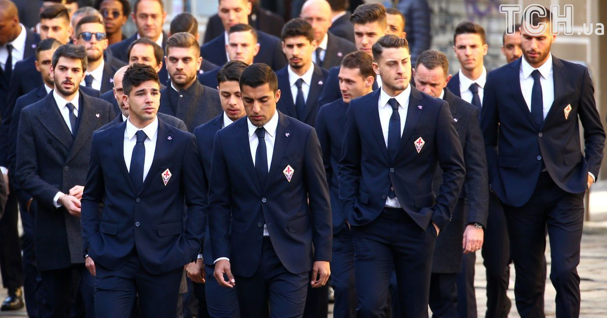 Прощание с Давиде Астори в Флоренции @ Reuters