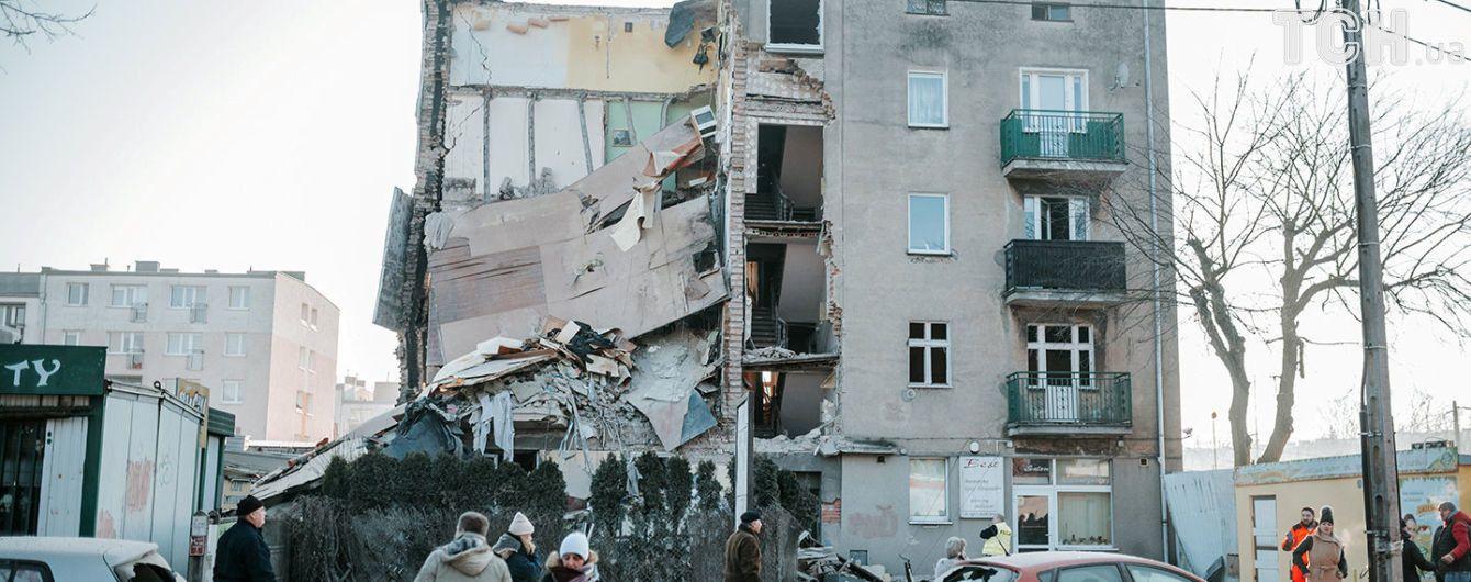 В Польше возросло количество погибших в результате взрыва газа в многоэтажке