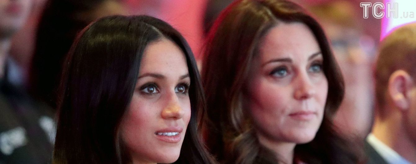 Конфликт между герцогинями. Перед свадьбой Меган довела Кейт Миддлтон до слез - СМИ