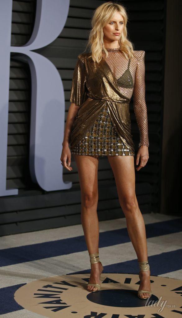 Откровенные образы звезд на Vanity Fair Oscar Party_11