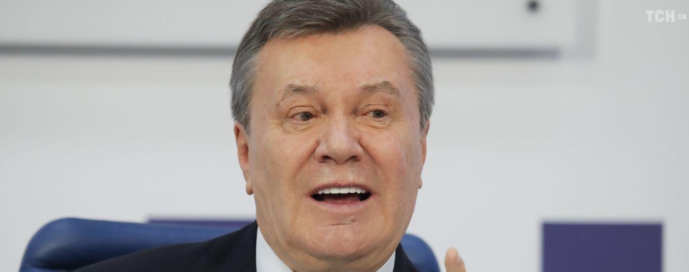 Янукович рассказал, как на основе Договора о дружбе просил Путина ввести войска в Украину