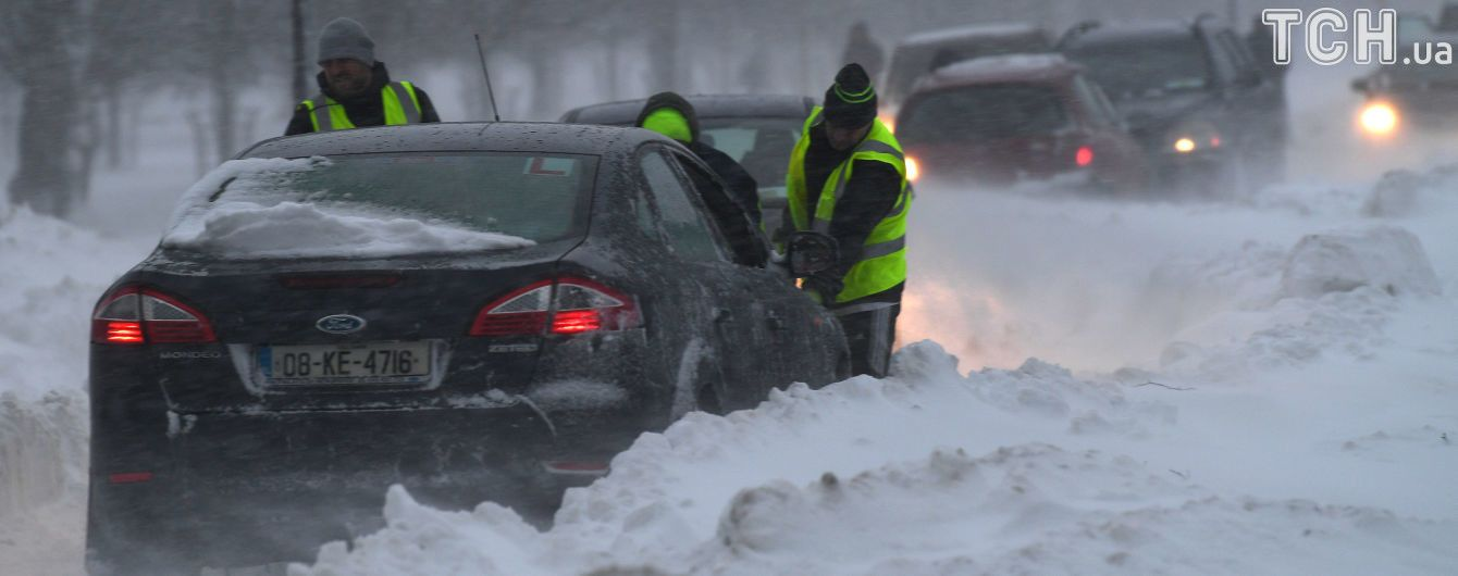 """""""Зверь с Востока"""" засыпал Европу снегом и сильно приморозил. Климатолог предупредил об изменениях"""