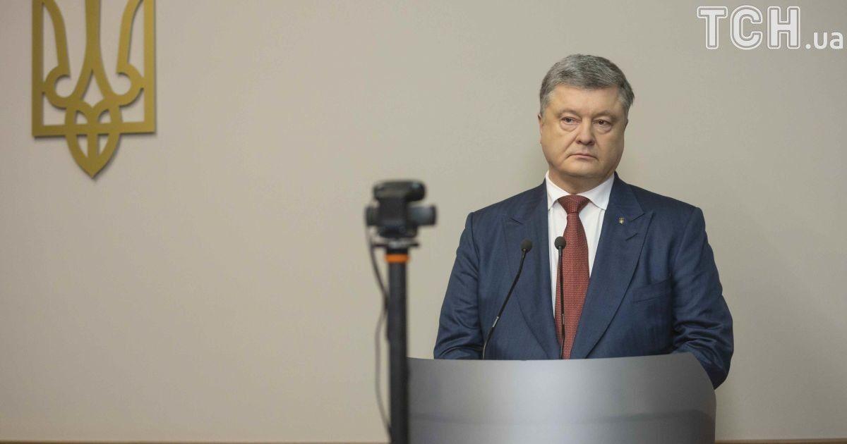 Критика РФ и благодарность крымчанам. Основные тезисы допроса Порошенко в деле госизмены Януковича