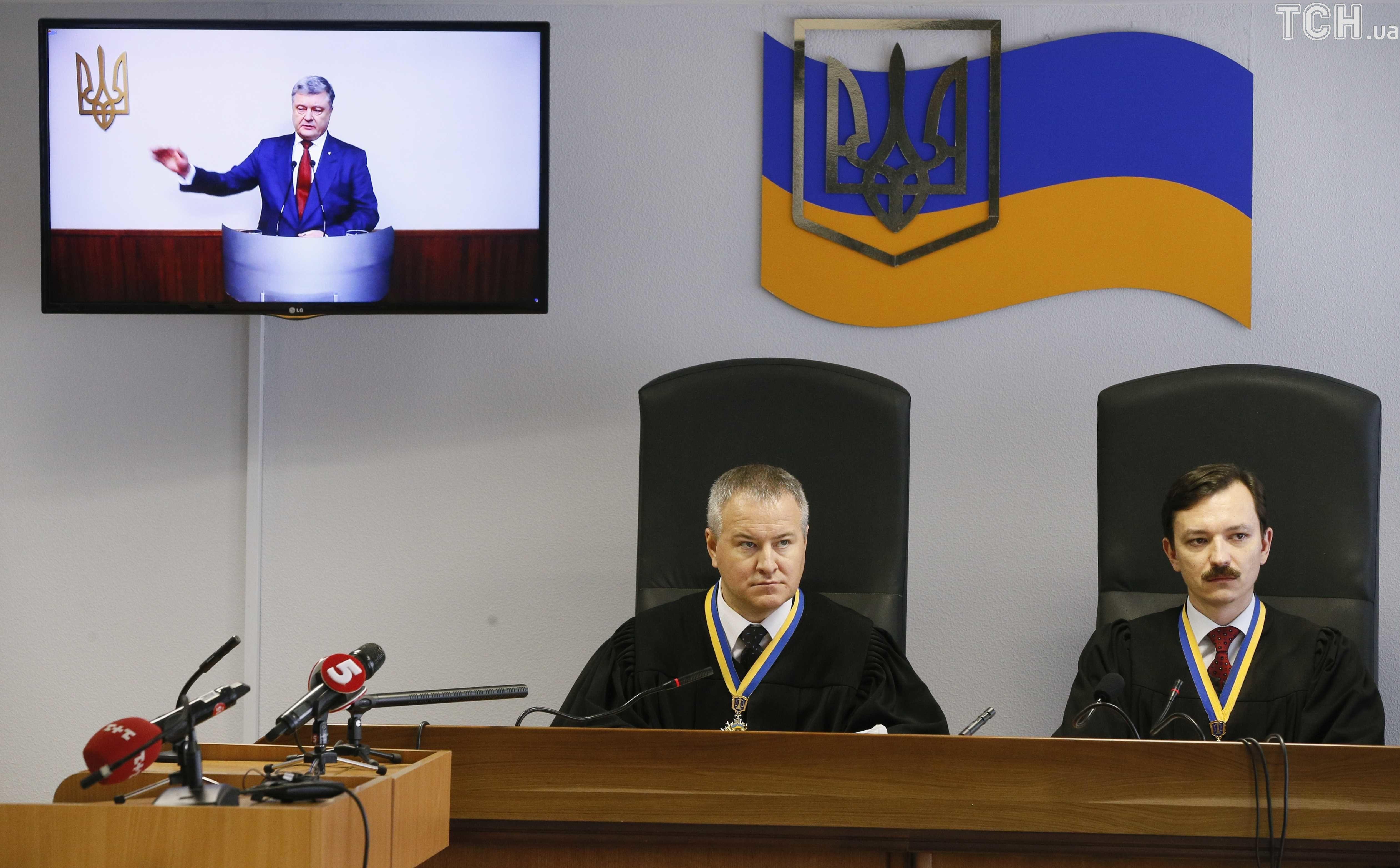допит Порошенка у справі Януковича_1