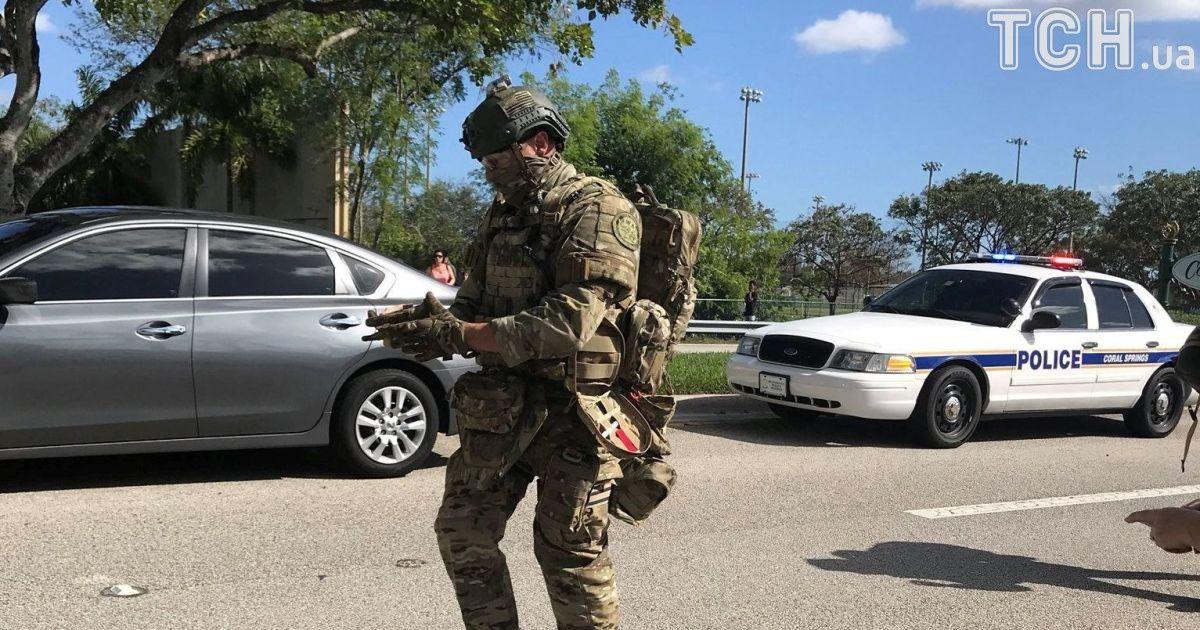 Кількість загиблих унаслідок стрілянині в школі на півдні Флориди зросла до 17 осіб