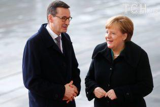 Німеччина та Польща мають спільні погляди на український суверенітет - Меркель