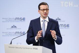 Вопрос израильского журналиста к премьеру Польши вызвал аплодисменты. Он вынужден был оправдываться