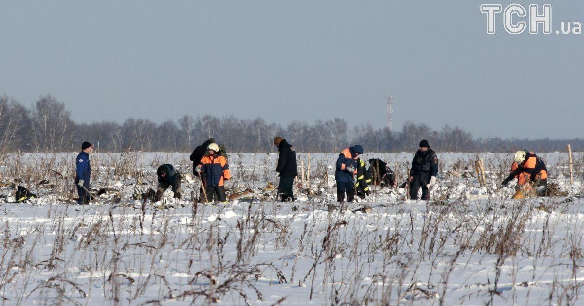 На місці падіння російського Ан-148 знайшли чорну скриньку