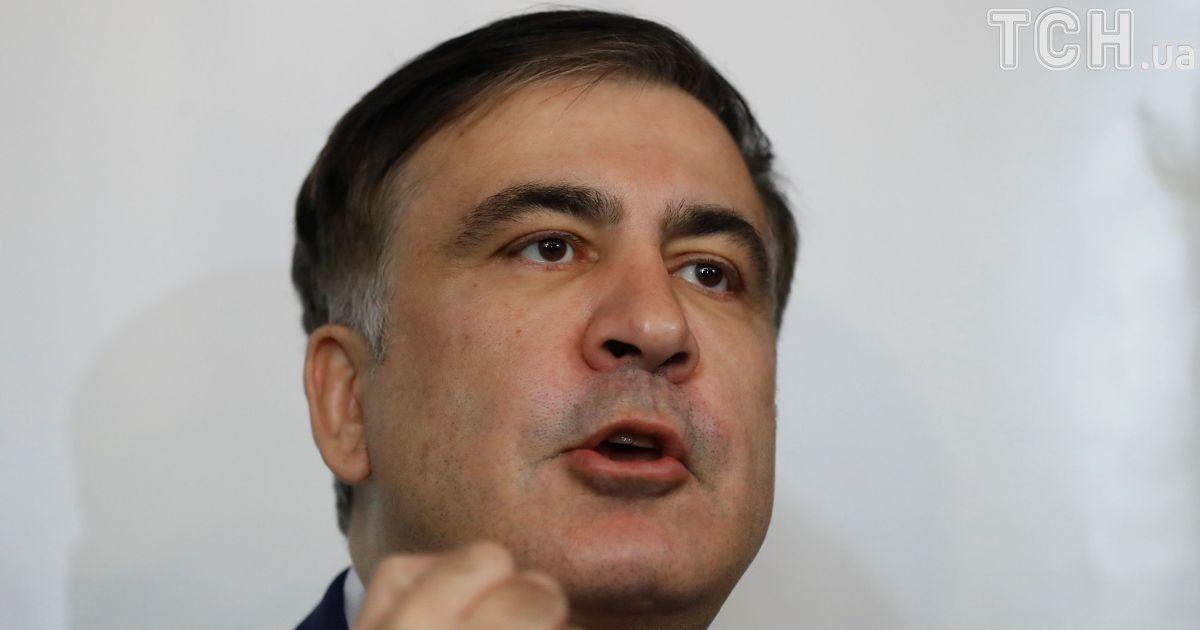 """""""Меня душили всю дорогу"""": Саакашвили рассказал подробности его выдворения из Украины"""