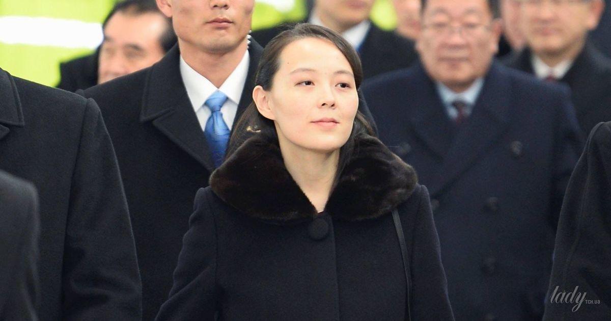 Без макияжа и в черном пальто: скромный образ 30-летней сестры Ким Чен Ына на Олимпийский играх
