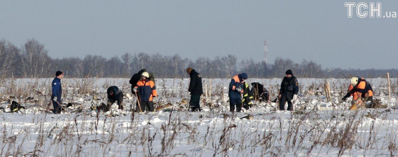 На месте падения российского Ан-148 нашли черный ящик