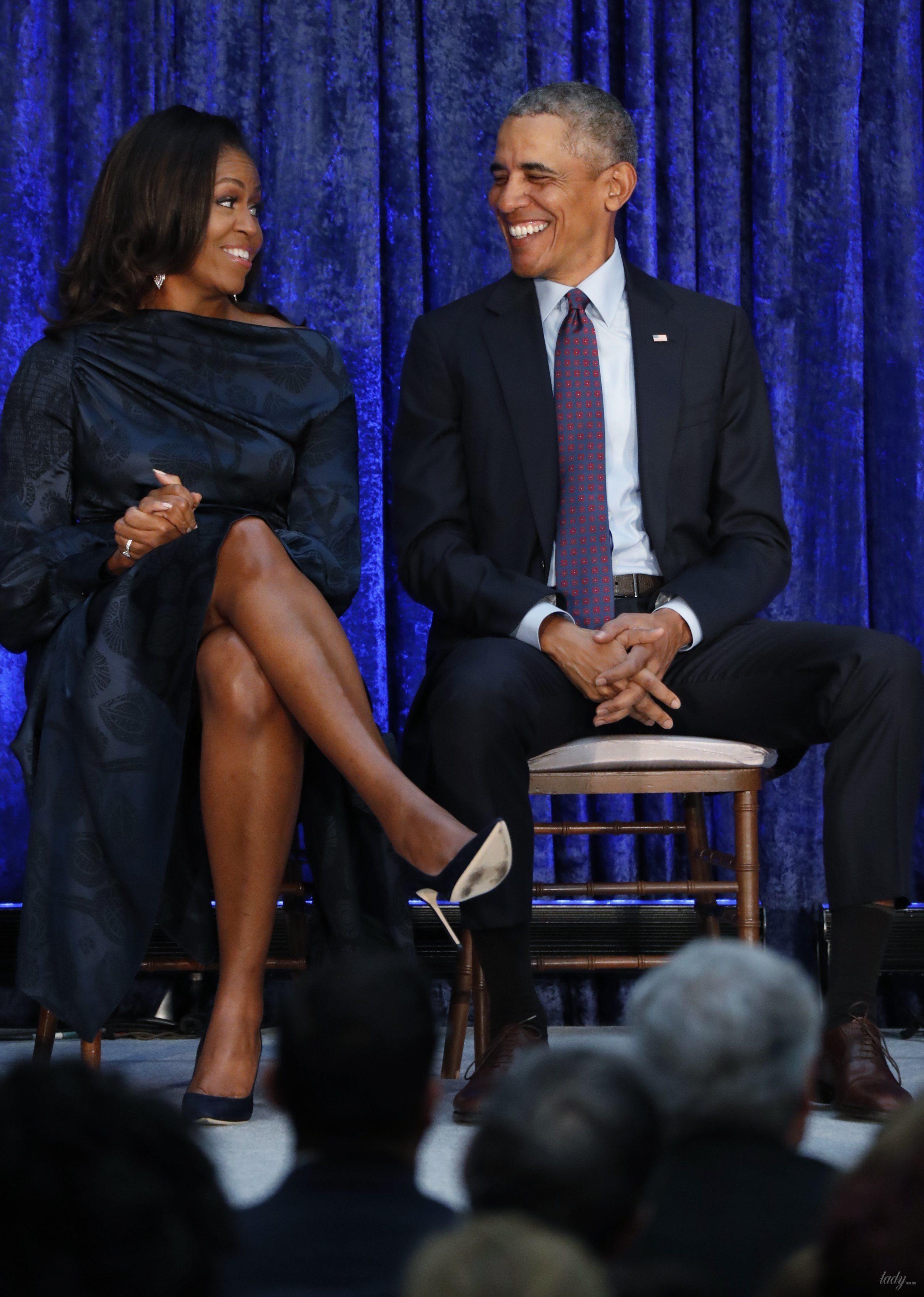 Мишель и Барак Обама_4