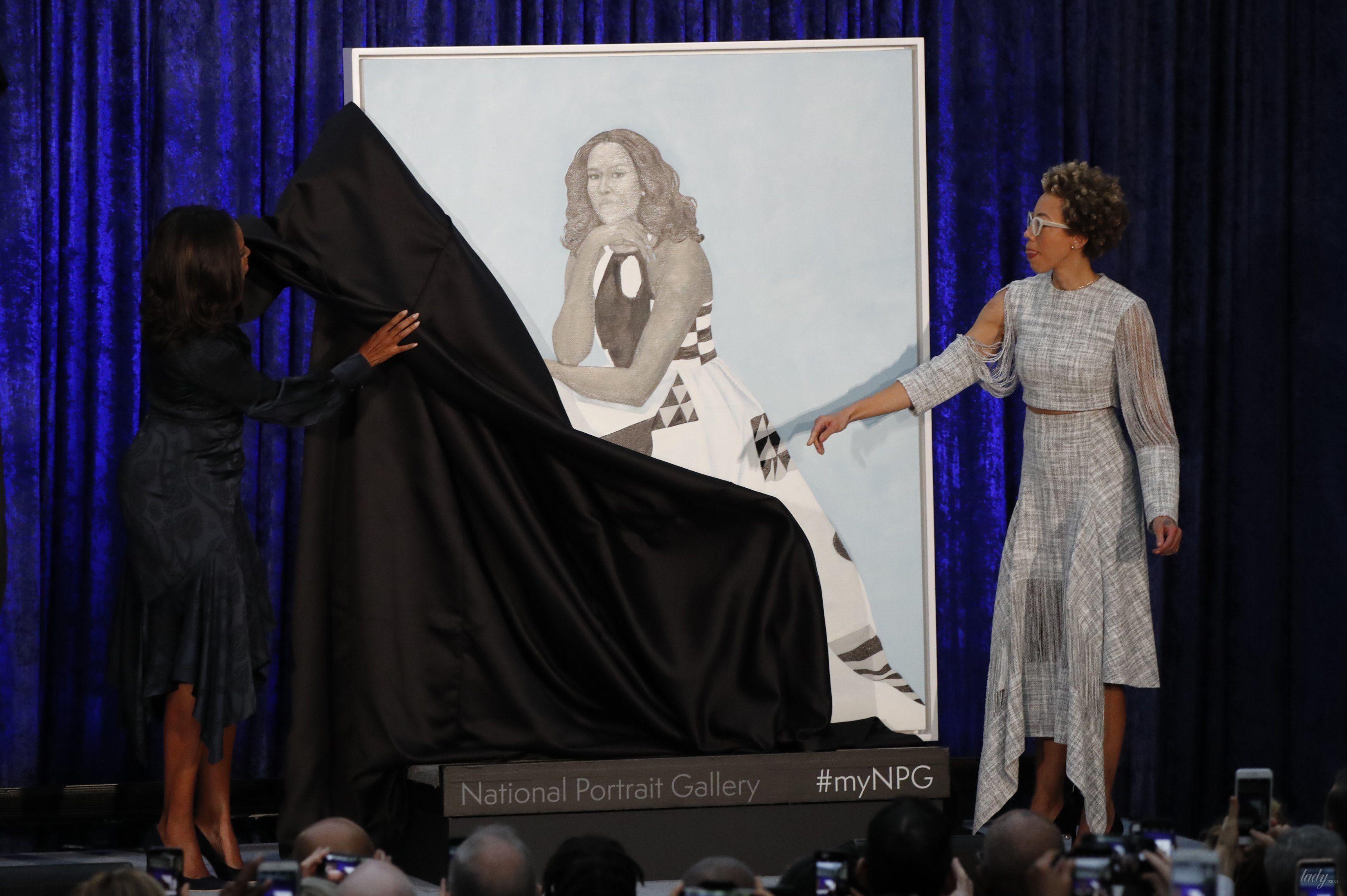 Мишель и Барак Обама_1