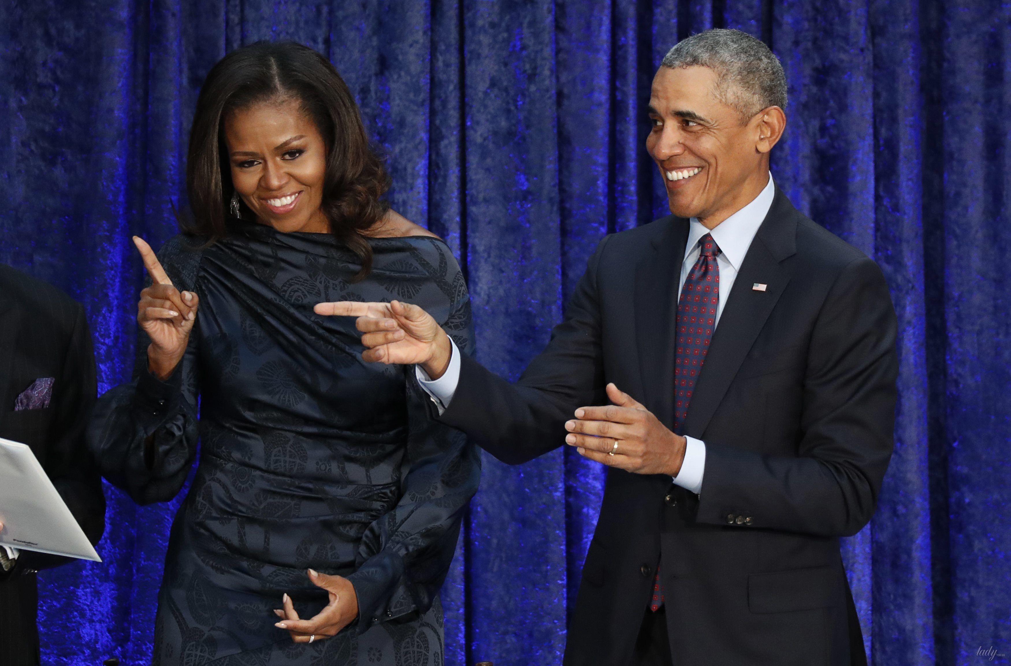 Мишель и Барак Обама_8