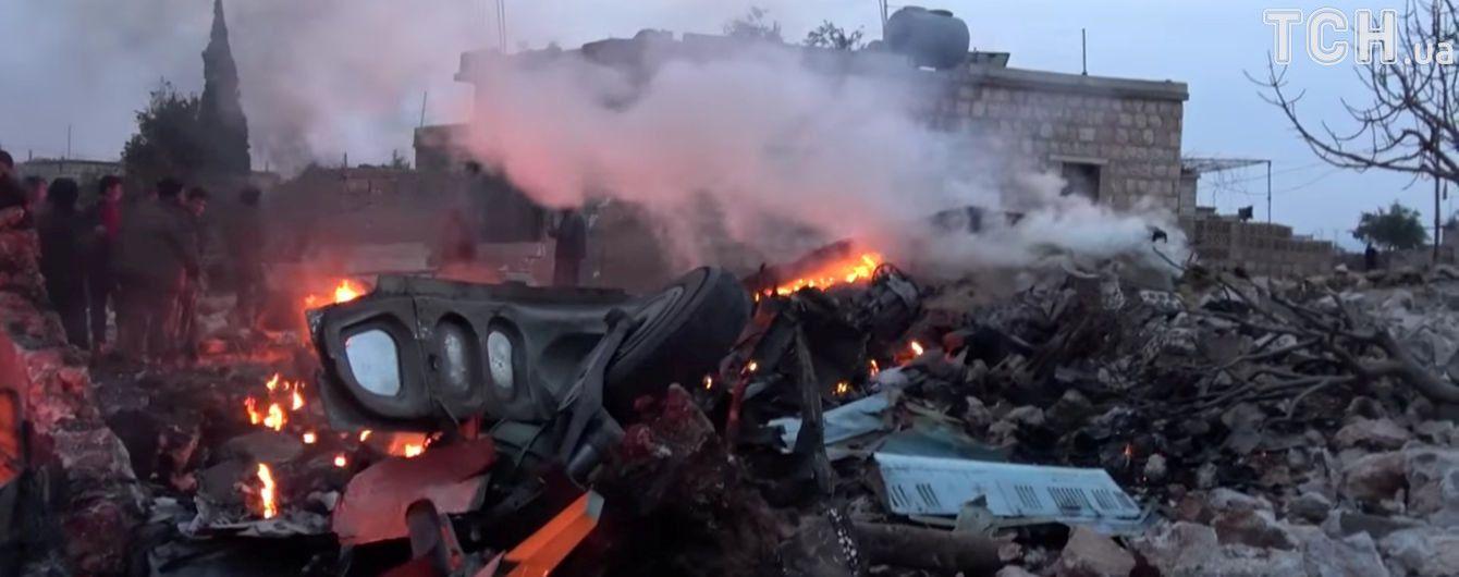 Россия мстит за свой сбитый в Сирии самолет и беспощадно обстреливает села и города
