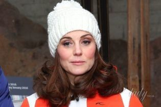 В лыжном костюме за 900 долларов: новый выход беременной герцогини Кембриджской