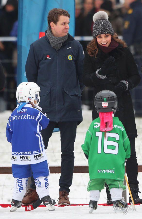 Герцогиня Кембриджская и принц Уильям в Швеции_4