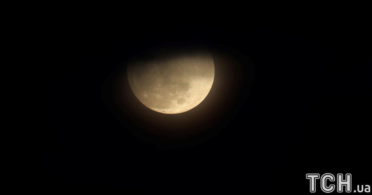 Місяць у  Сан-Дієго, штат Каліфорнія, США