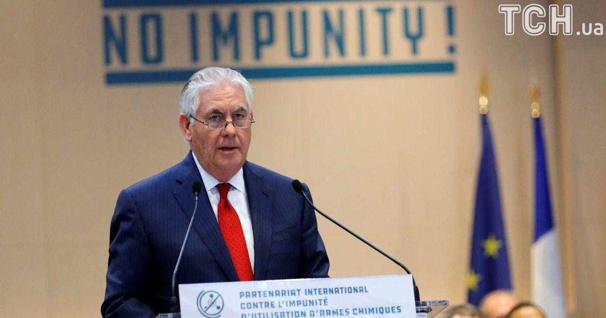 США не исключают введения новых санкций в отношении россиян - Тиллерсон