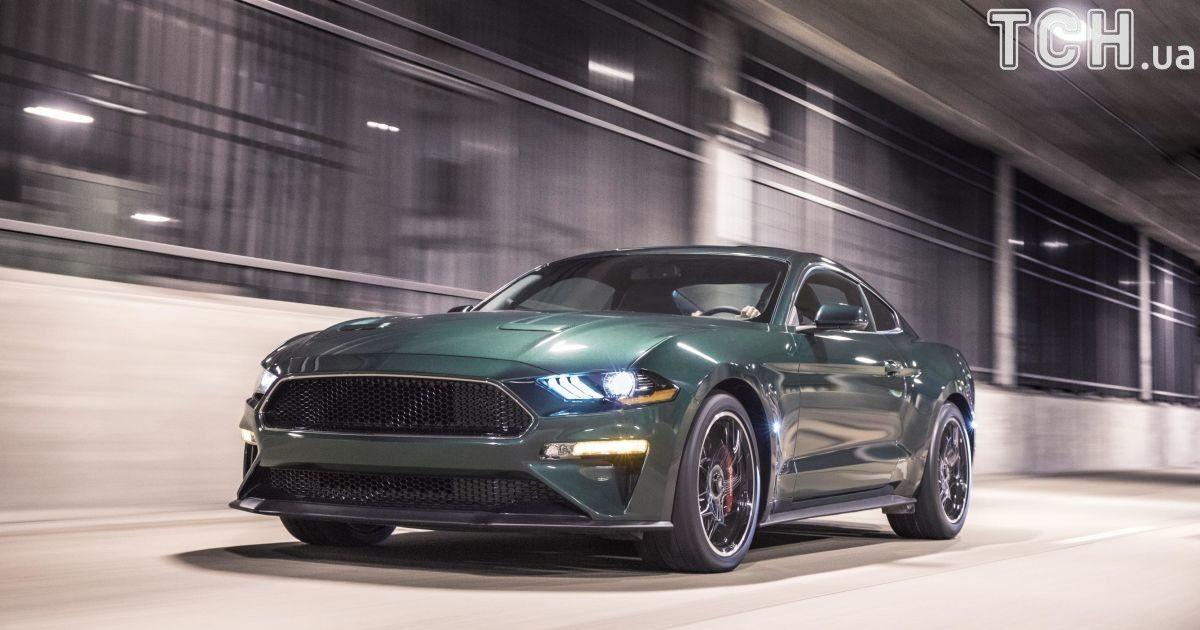 Ford Mustang Bullitt @ Reuters