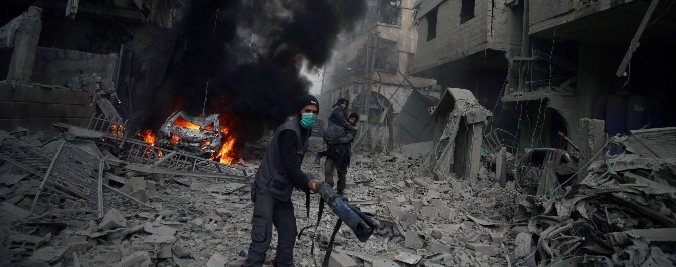 Понад сотню бійців сил Асада загинули під час авіаудару коаліції на чолі США в Сирії