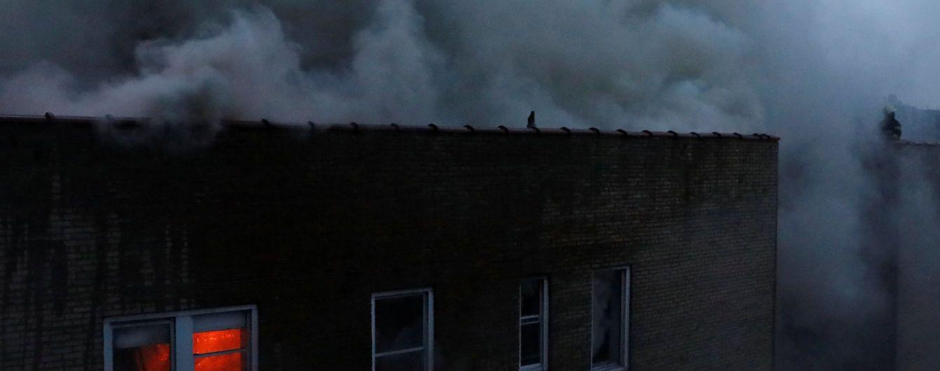 В Португалии восемь человек заживо сгорели в доме отдыха