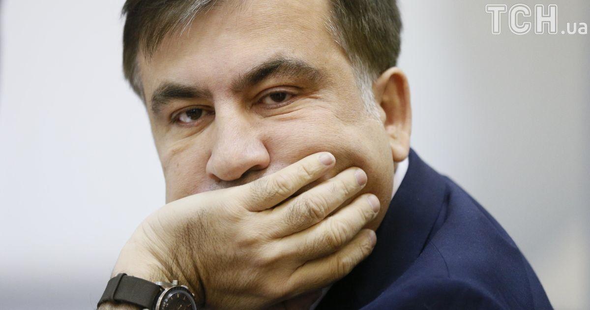 """Саакашвили в Варшаве обвинил украинских силовиков в """"незаконном похищении"""""""