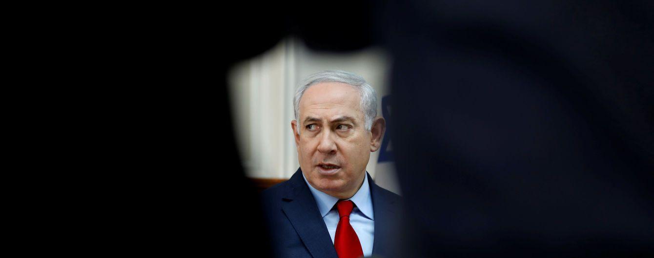 """Під Нетаньяху """"захиталося крісло"""", але він не збирається у відставку"""