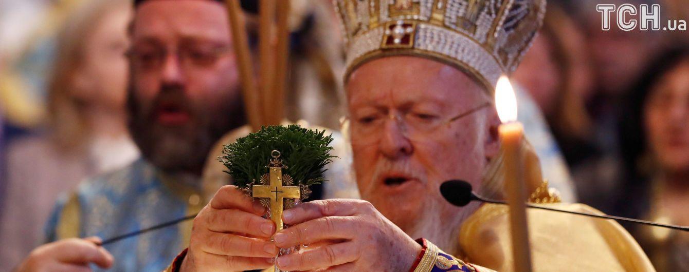Вселенский патриарх сообщил, что украинская церковь получит автокефалию