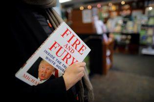 Скандальна книжка про Трампа вийшла на чотири дні раніше через грандіозний ажіотаж