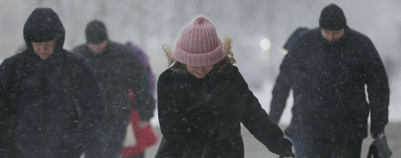 В Украину пришла непогода: в отдельных регионах снега должно насыпать до 20 сантиметров