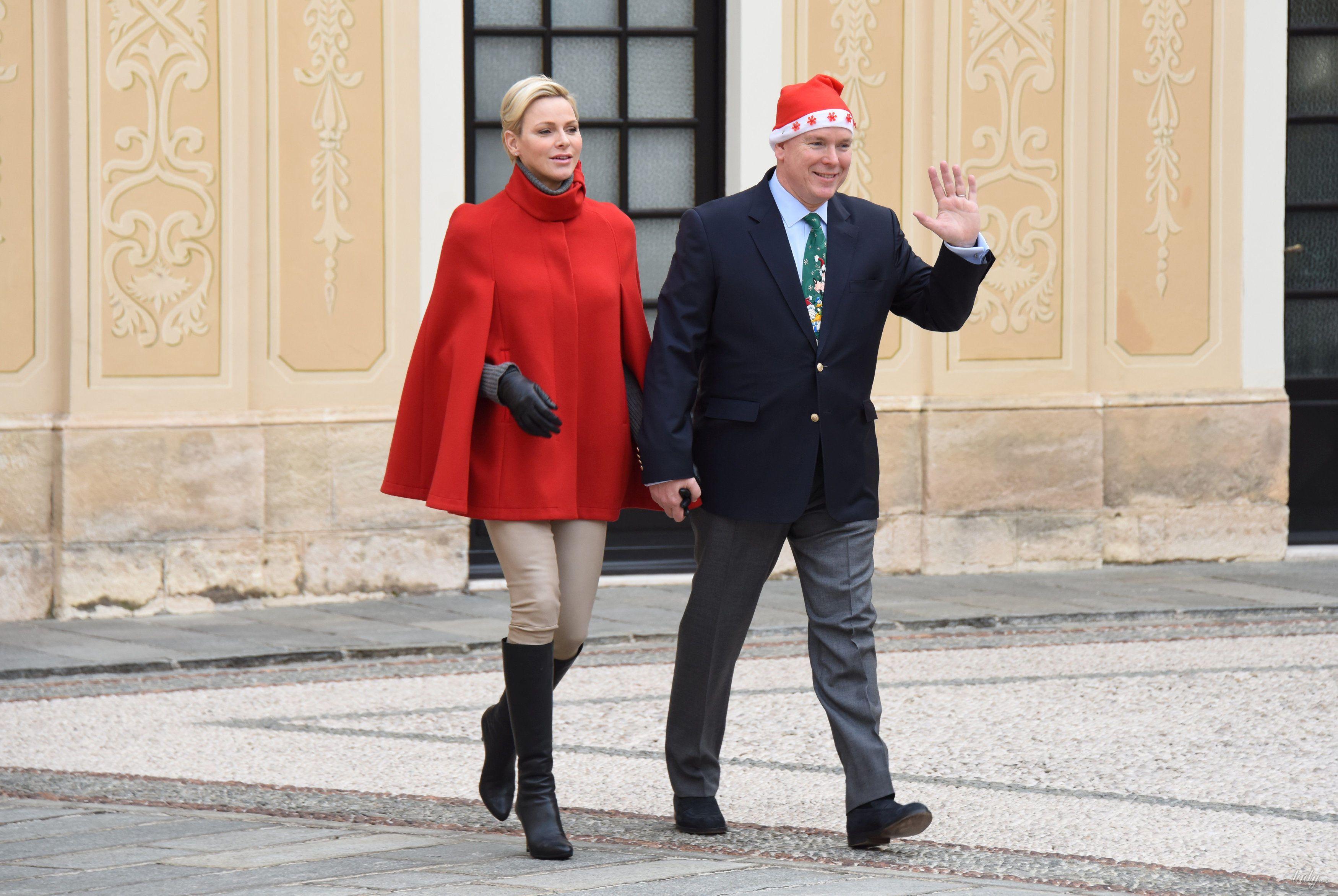 Князь Альбер II и княгиня Шарлин_1