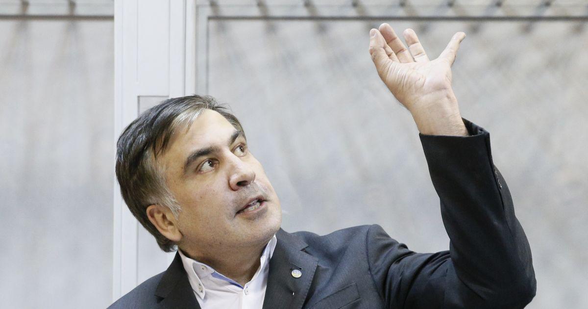"""""""Не на того нарвались"""": Саакашвили пригрозил радикальными действиями из-за назначенной меры пресечения"""