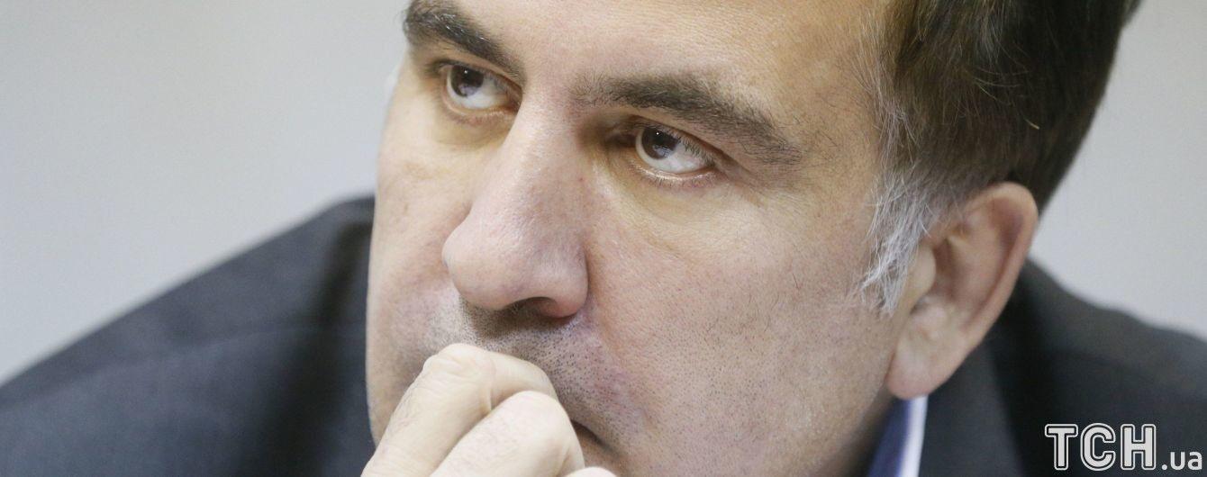 В Госпогранслужбе объяснили, почему Саакашвили принудительно вывезли за пределы Украины