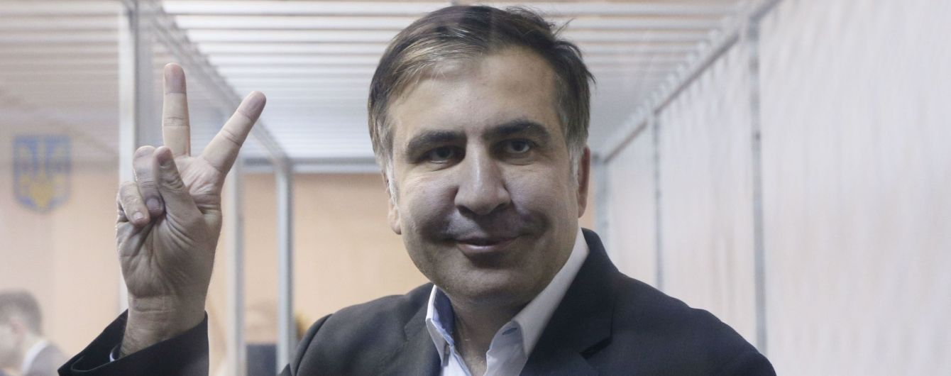 Пограничники приняли Саакашвили в Польше – официально