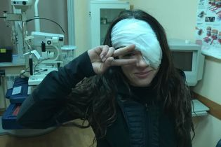 Руслана вперше розповіла, чому їй знадобилася операція на оці