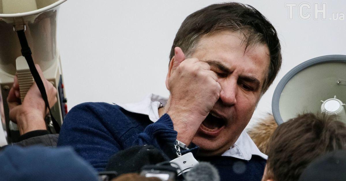 В ГПУ, СБУ и МВД открестились от задержания Саакашвили